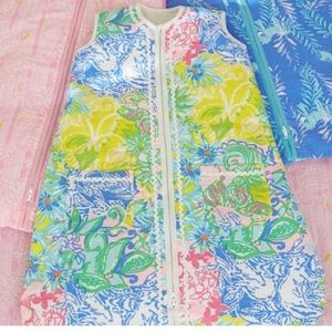 Lily Pulitzer wearable blanket sleepsack